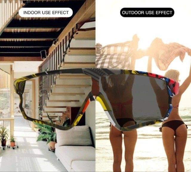 Óculos de sol Ciclismo Fotocromatico Polarizado  - Foto 4