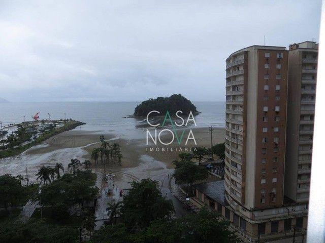 Apartamento com 2 dormitórios para alugar, 118 m² por R$ 3.000,00/mês - José Menino - Sant - Foto 3