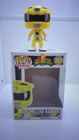 Funko POP 362 Yellow Ranger ( Power Ranger ) - Epic Toys Brasil - Foto 3