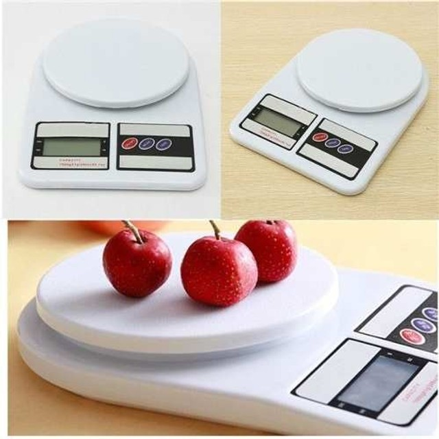 Balança Digital Cozinha 10kg Alta Precisão Alimento Dieta                            - Foto 2