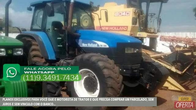 Trator Ford/New Holland TM 180 4x4 ano 06 - Foto 5