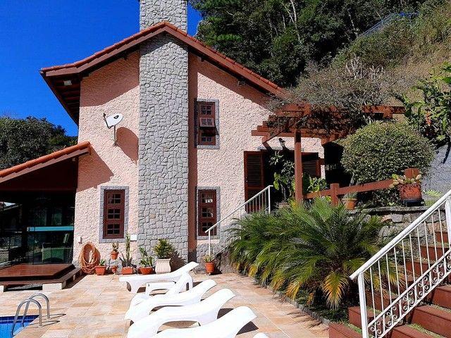 Bela casa de condomínio privilegiado para venda em local valorizado ,Comary , Teresópolis. - Foto 4
