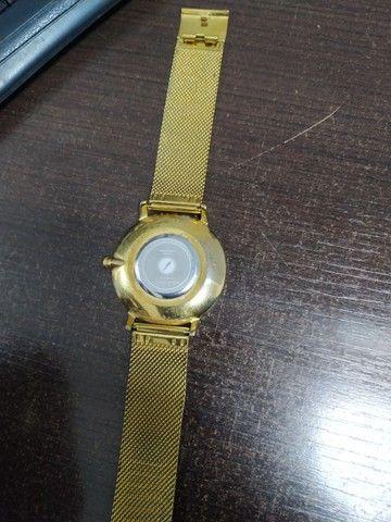 Relógio Dourado chilli beans - Foto 2