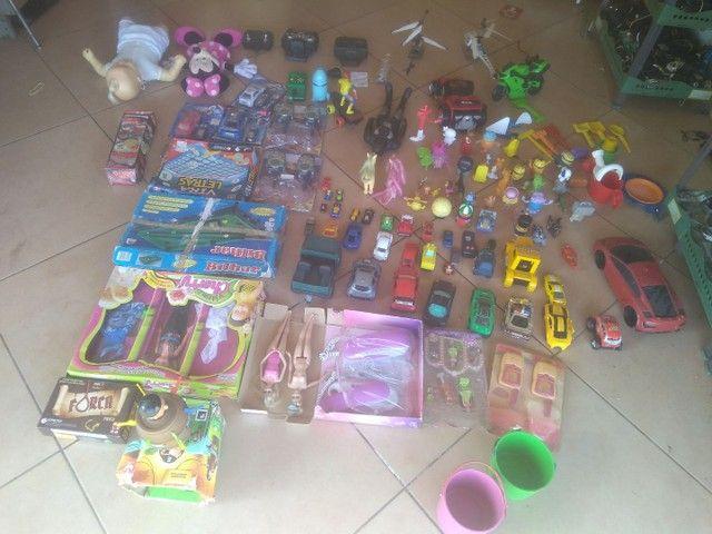 Lote de brinquedo r$ 400 tudo zap * - Foto 2