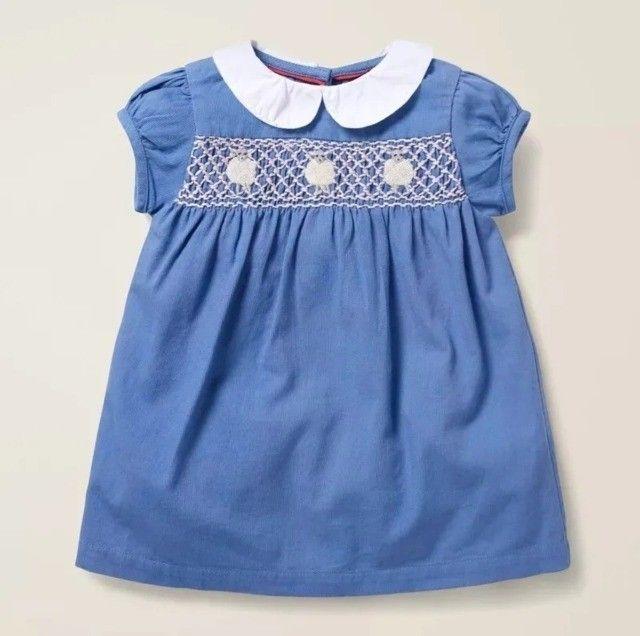 Vestido Infantil Crianças Meninas Roupa Casual Festa Algodão