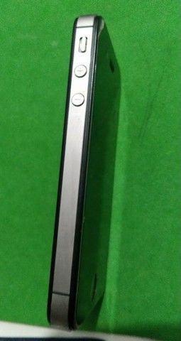iPhone 4s bateria boa  bem conservado - Foto 3