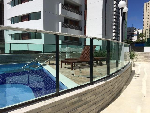 Pronto para morar em Boa Viagem 3Qts 106m² lazer completo com piscina e quadra 2 vagas.