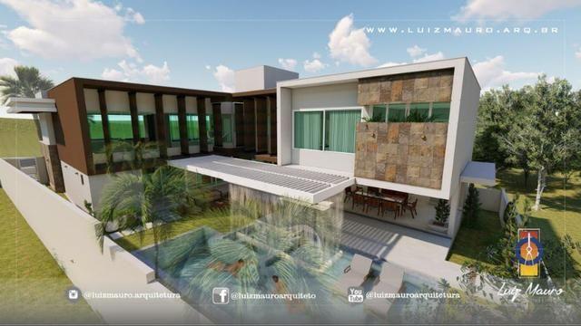 Condomínio Florais dos Lagos, casa Sobrado com 4 suites, em fase de construção - Foto 13