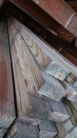 Pinus alto clave madeira tratada - Foto 3