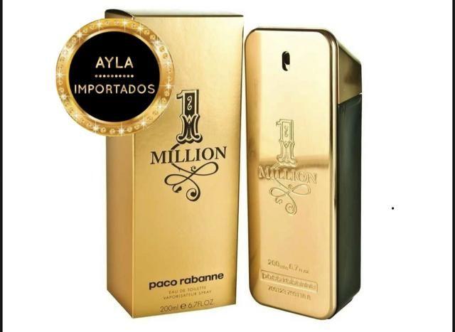 5 x R$: 89,80 - 200ml Perfume Paco Rabanne 1 Million