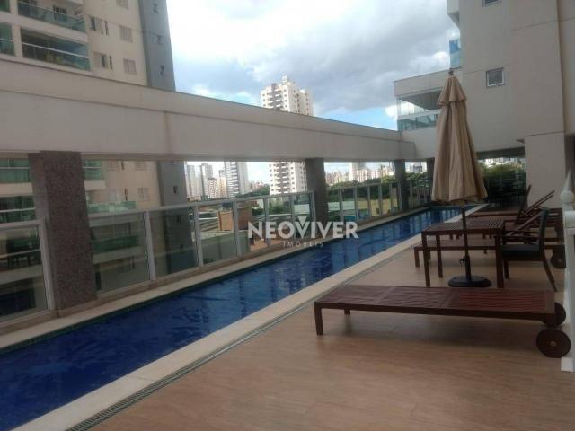 Residencial matriz -apartamento com 3 dormitórios à venda, 103 m² por r$ 495.000 - setor b