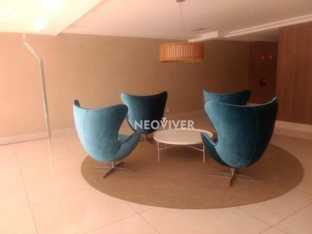 Residencial matriz -apartamento com 3 dormitórios à venda, 103 m² por r$ 495.000 - setor b - Foto 3