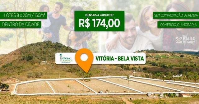 Loteamento Vitória dos Coqueiros em Vitória d Antão - Foto 3
