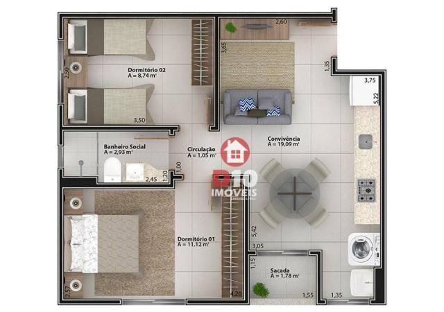 Apartamento à venda - Boa Vista - Cocal do Sul/SC - Foto 2