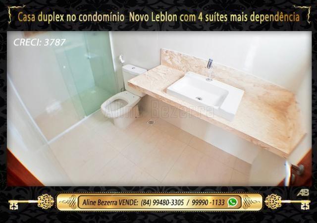 Duplex com 5 suítes no condomínio Novo Leblon, confira - Foto 16