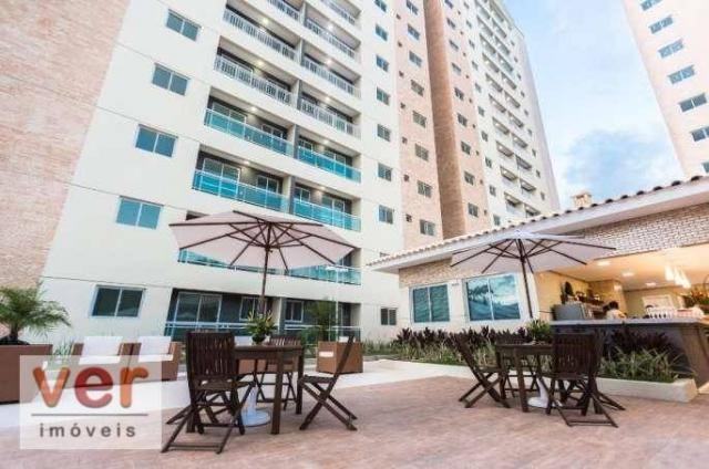 Apartamento com 3 dormitórios à venda, 62 m² por R$ 259.000,00 - Parangaba - Fortaleza/CE - Foto 2
