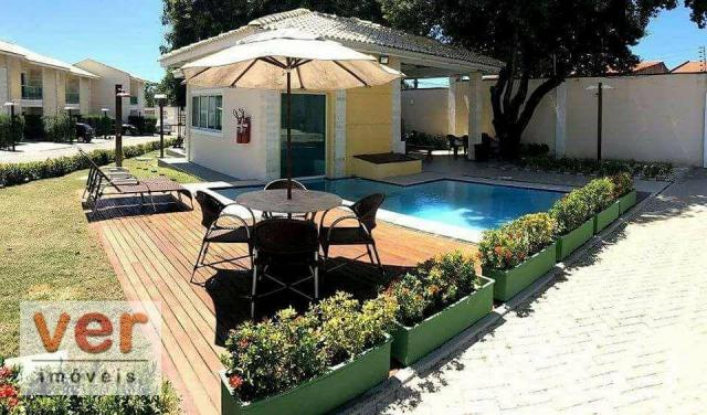 Casa à venda, 113 m² por R$ 520.000,00 - Engenheiro Luciano Cavalcante - Fortaleza/CE