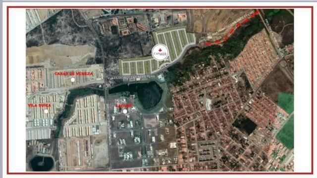 Canadá Houses Pé-direito ampliado de 4,10 metro no bairro Sim - Foto 15