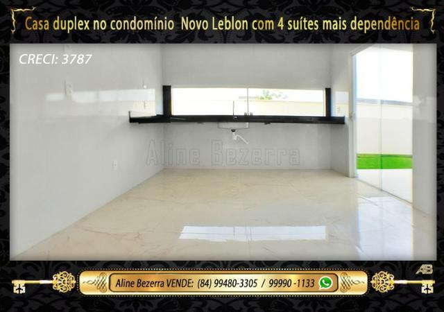 Duplex com 5 suítes no condomínio Novo Leblon, confira - Foto 6
