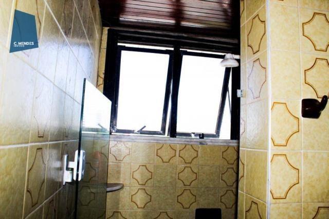 Apartamento com 3 dormitórios para alugar, 100 m² por R$ 1.600/mês - Papicu - Fortaleza/CE - Foto 13