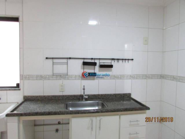 Apartamento com 3 dormitórios para alugar, 60 m² por r$ 1.100,00 - jardim são carlos - sum - Foto 7