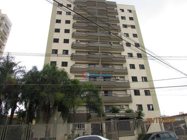Apartamento com 3 dormitórios para alugar, 60 m² por r$ 1.100,00 - jardim são carlos - sum