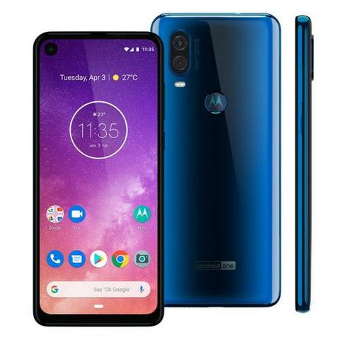 Motorola One Vision - 128GB - Azul - Lacrado - 48Mp - Foto 3