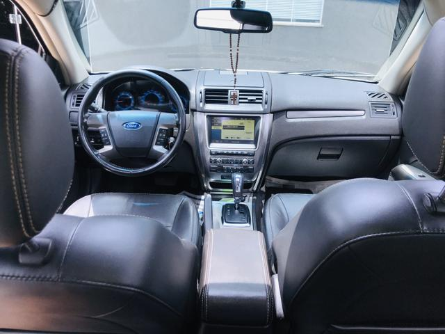 Ford Fusion V6 branco pérola carro para pessoas exigentes - Foto 5