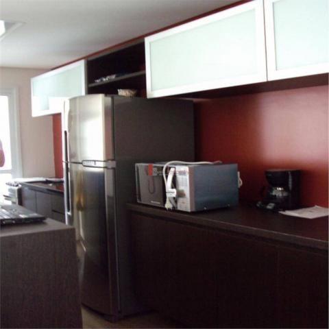 Apartamento com 1 dormitório para alugar, 51 m² por r$ 2.600/mês - campo belo - são paulo/ - Foto 14