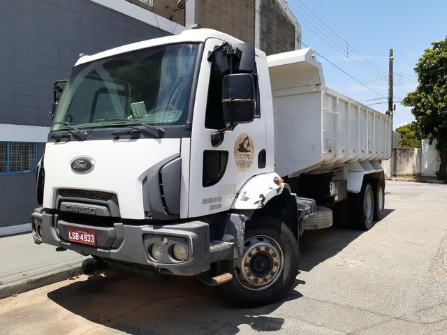 Ford cargo 2629/ 4x6 2013 caçamba - Foto 2