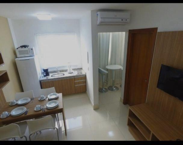 Apartamento de 1 Quarto em Resort Caldas Novas 5 pessoas - Foto 4