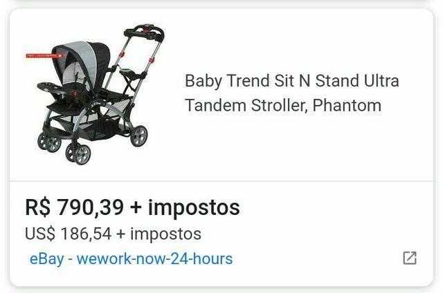 Carrinho para bebês, Sit In Stand americano - Foto 5