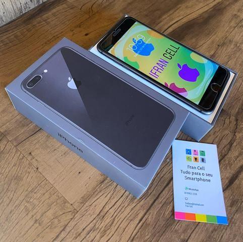 IPhone 8 Plus 64GB Cinza Espacial. GARANTIA ATÉ JULHO 2020. ACEITO CARTÃO