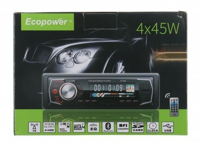 Toca Rádio Ecopower EP-605 - Bluetooth - Usb - Sd Promoção - Foto 3