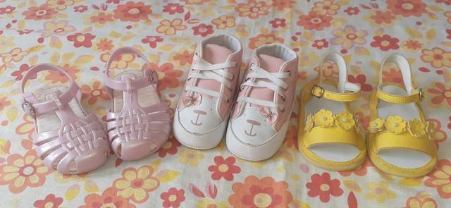 (Feminino)10 peça de roupa + um sapatinho é 2 sandálias tudo isso por apenas 150,00 - Foto 3