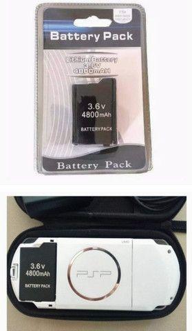Bateria de PSP nova lacrada - Foto 6
