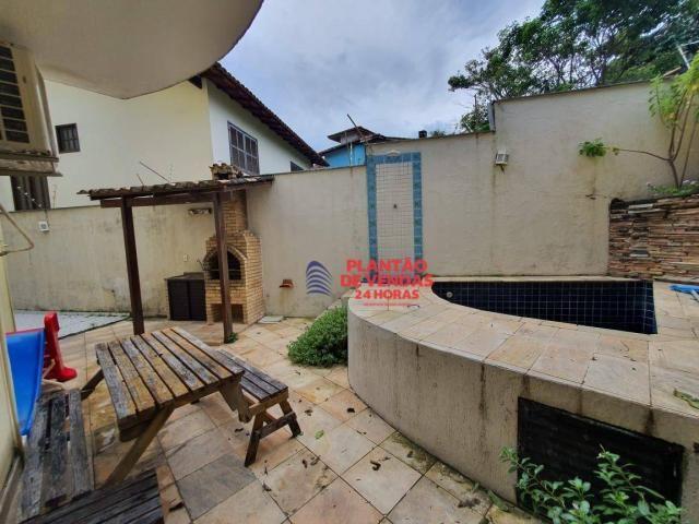 Apartamento térreo com área privativa, piscina e churrasqueira 3 quartos - Foto 2