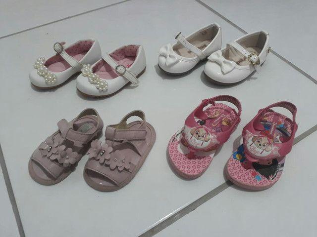 Lote sandálias - Foto 2