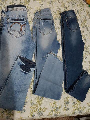*Desapego* calças de marca n 38 - Foto 3