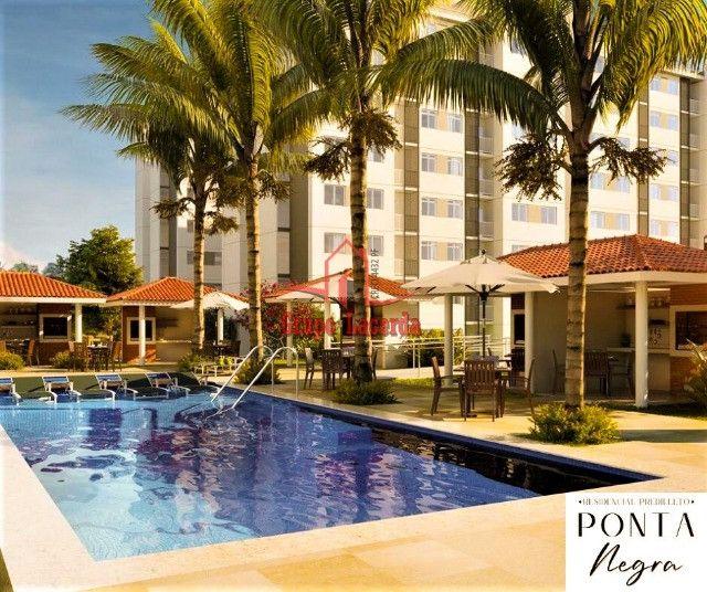 Predilleto Ponta Negra, 3 quartos com suíte, Entrada Parcelada, use FGTS - Foto 2