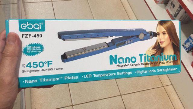 Chapinha baby liss nano titanium 450graus