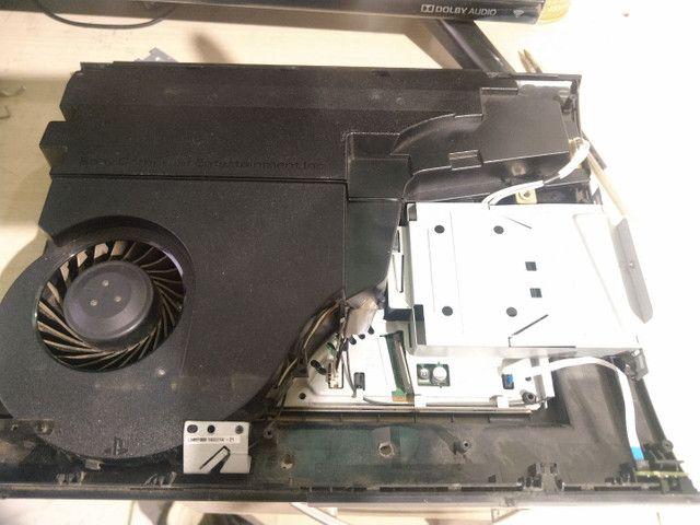 PS3 super slim para peças - Foto 4