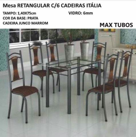 Mesa Itália 6 Cadeiras - Foto 3