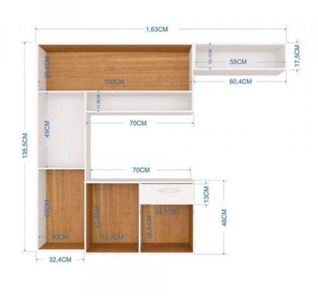 Cozinha linda e moderna em várias cores direto da indústria - Foto 2