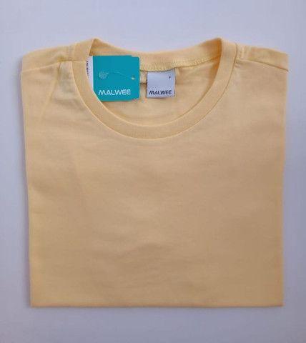 Camiseta Malwee Tradicional Básica Masculina - Foto 3