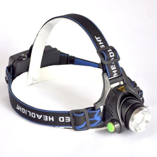 Lanterna De Cabeça Recarregável Com 3 Modos de Iluminação - Foto 3