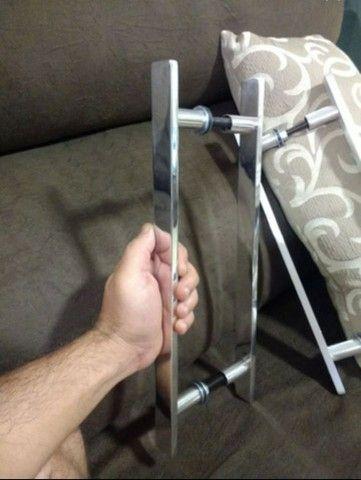 Puxadores novos para porta de madeira ou blindex! - Foto 2