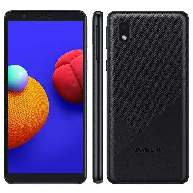 "Smartphone Samsung Galaxy A01 Core Dual Chip Android 10 Tela 5.3"" 32GB Câmera 8MP - Novo - Foto 5"