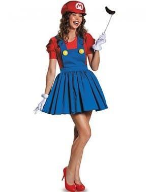 fantasia feminina super Mário