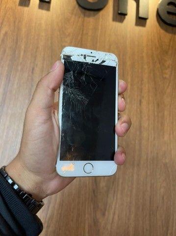 Troca de tela iPhone 6s! Quebrou?